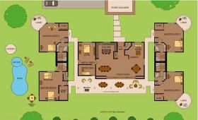 Kona Luxury Villas — Site Map