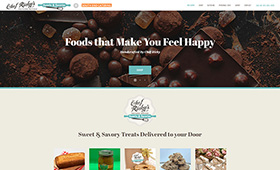 ShopChefRicky.com — Web Design