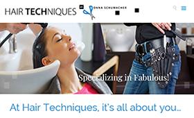 HairTechniques.net — Web Design